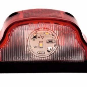 ПН-2-01-02 пласт.красная светодиод