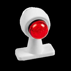 ГФ 3.22 LED бел, рассеиватель простой