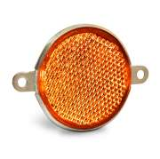 ФП-311 оранж.круглый метал.с ушами